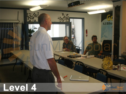 Level 4 Solar Thermal Training Workshop