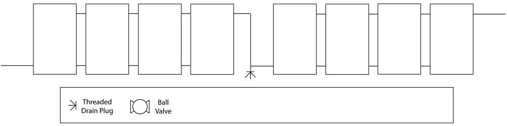Balancing Flows With Parallel-Series Method