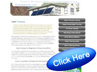 Solar Energy Training Courses