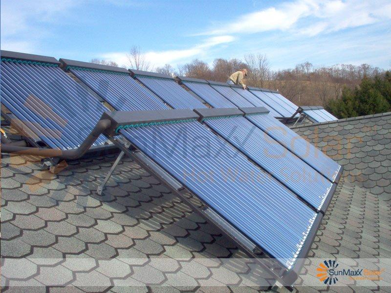 SunMaxx ThermoPower Evacuated Tube Solar Collectors - Solar ...