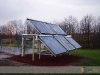 Custom Mounting System For Residential Solar Thermal System With SunMaxx Evacuated Tube Solar Collectors
