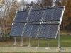 Pole Mounted Sunmaxx Evacuated Tube Solar Collectors Array
