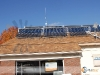 SunMaxx Evacuated Tube Solar Collectors In Small Commercial Solar Heating Installation