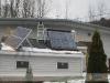 SunMaxx Evacuated Tube Solar Collector Installation Under
