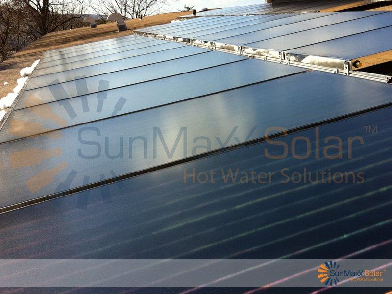 TitanPowerPlus Commercial Flat Plate Installation