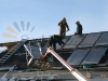 Flying Goose 25 Flat Plate Solar Collectors Solar Heating Installation