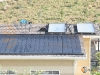 Residential Solar Hot Water System With Flat Plate Solar Collectors In Southern California