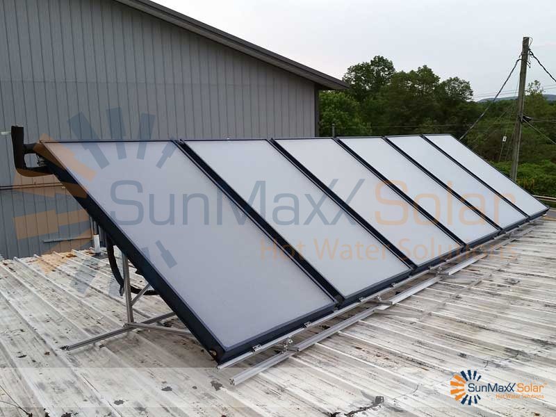 Solar hot water system for innovative solar solutions for Innovative heating systems