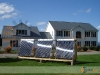 Large Solar Domestic Hot Water System With SunMaxx Evacuated Tube Solar Collectors