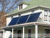 Residential Solar Hot Water System With SunMaxx Evacuated Tube Solar Collectors In Upstate NY