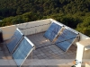 Set Of Four SunMaxx Evacuated Tube Solar Collectors
