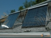 SunMaxx Evacuated Tube Solar Collectors Small Office Installation Upstate NY
