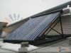 Tilt Mounted SunMaxx Evacuated Tube Solar Collector At Small Office In Upstate NY
