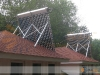 Tilt Mounted SunMaxx Evacuated Tube Solar Collectors In Residential Solar Hot Water System