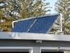 Tilt Mounted SunMaxx Evacuated Tube Solar Collectors In Upstate NY