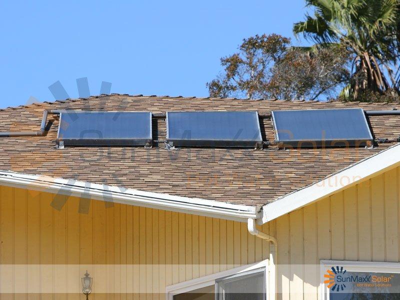 TitanPowerPlus Residential Flat Plate Installation