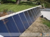 Large Residential Flat Plate Solar Collectors Heating System