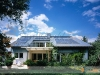 Residential Solar Heating System With Flat Plate Solar Collectors