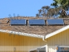 Small Residential Solar Domestic Hot Water System With SunMaxx Flat Plate Solar Collectors