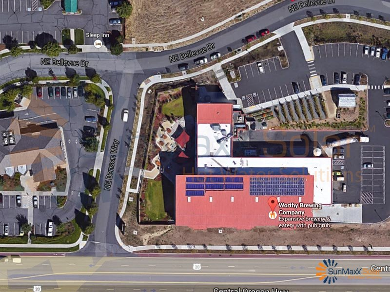 Sunmaxx Solar Collectors Installed At Worthy Brewing