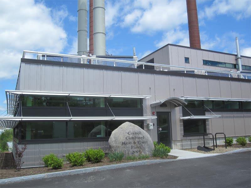 SunMaxx Solar Installs Solar Thermal System at Cornell CCHP