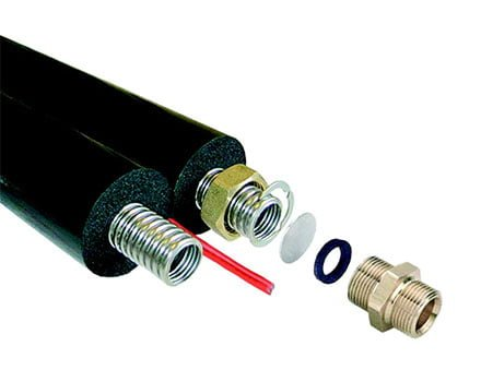 Insulated Solar Hot Water Flexible Line Set