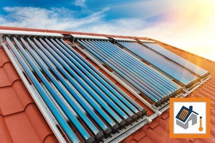 SunMaxx ThermoPower Evacuated Tube Solar Collectors