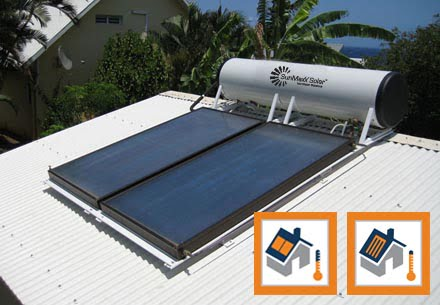 SunMaxx ThermoPower & TitanPower Thermosyphon Solar Collectors