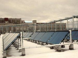 Wallkill Prison Solar Thermal System Installation - Solar Thermal
