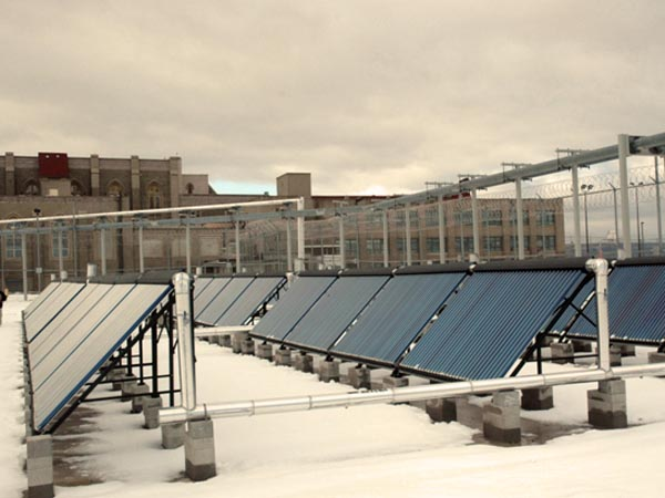 Wallkill Prison Solar Thermal System Installation