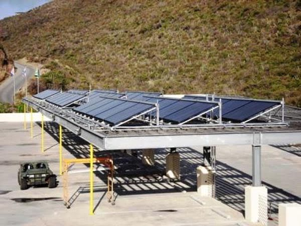 SunMaxx Solar Hot Water Solar System Installed at Westin Resort, St. Marten