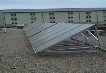 SunMaxx Solar and Johnson Controls Install Solar Thermal Systems at Fort Hood in Killeen, Texas Main Image