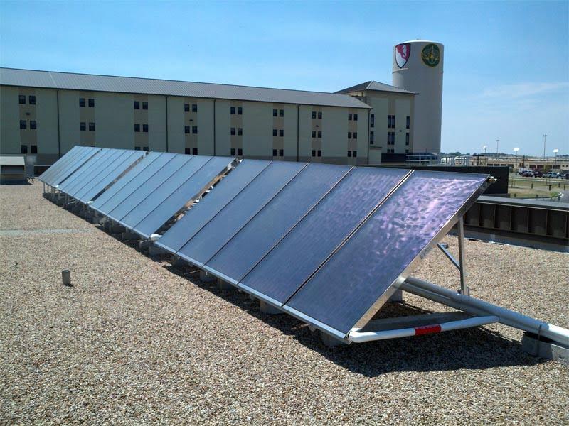 SunMaxx Solar Installs Solar Thermal System at Ft. Hood