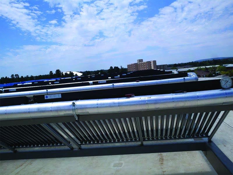 SunMaxx Solar Completes Solar Thermal Installation at Northern Arizona University