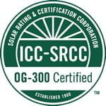 SunMaxx Solar Collectors and Solar Heating Water Systems Receive SRCC OG-300 Certifications Main Image