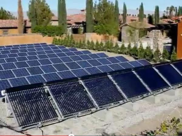 SunMaxx Solar and Tiger Electric, Inc. Install Solar Thermal System at Rancho Clancy