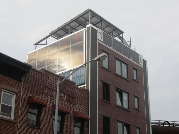 SunMaxx Solar Partners with Voltaic Solaire to Install Solar Thermal System in New York City's First Self-Powered Building Located in Brooklyn, New York Main Image