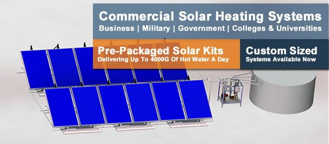 SunMaxx Residential Solar Hot Water Kit Map
