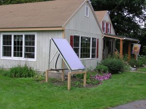 Calvin Adams Solar Thermal System Geneva, NY