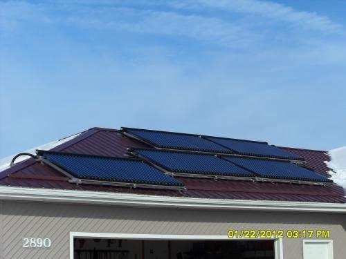 SunMaxx Installs Residential Solar Thermal System in Hamlin, NY