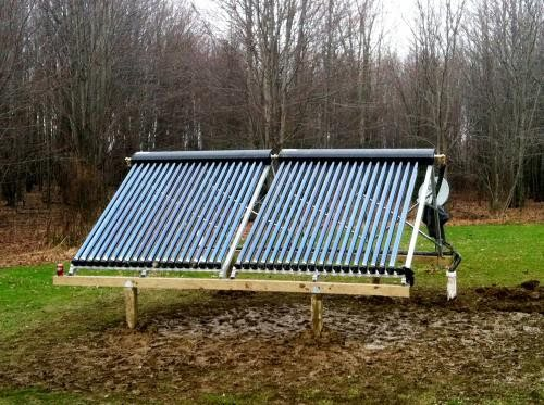 SunMaxx Solar System Installed in Springville, NY