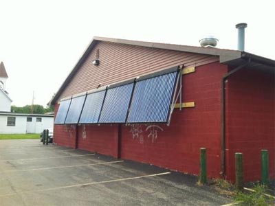 SunMaxx Solar Installs System at Hometowne Cafe in Hamlin, NY