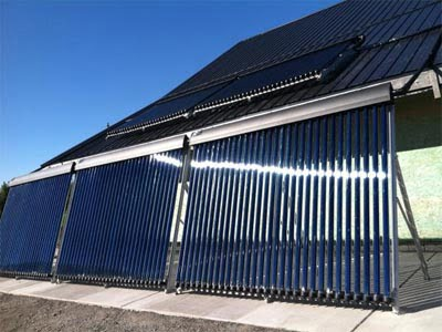SunMaxx Installs Solar Thermal System at Singer Farms in Appleton, NY