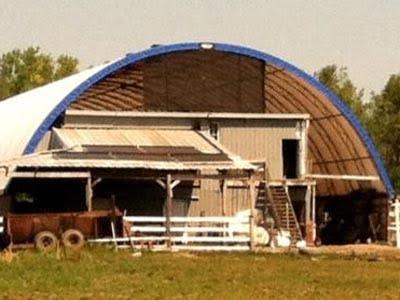 SunMaxx Solar Thermal System Installed at Vanillen Dairy in Ovid, NY