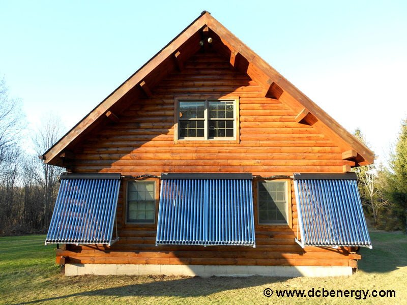 SunMaxx Solar Installation at Kuhns Bros. Log Homes Inc.