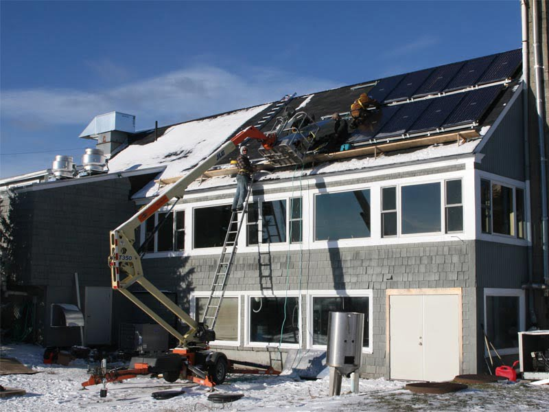 SunMaxx Solar Collectors Installed at First Solar Powered Brewery in New Hampshire
