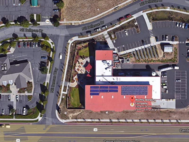 SunMaxx Solar Collectors Installed at Worthy Brewing Company in Bend, Oregon