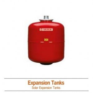 Solar Expansion Tank with Connections 6 Gallon