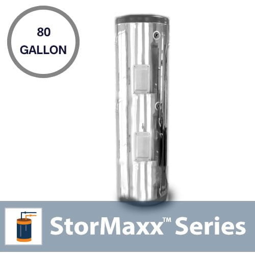 80 Gallon Stainless Steel Storage Tank