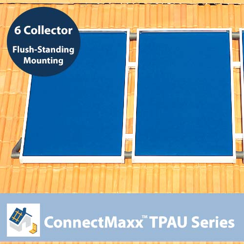 ConnectMaxx TPAU Series Flush-Mounting Kit – 6 Collectors